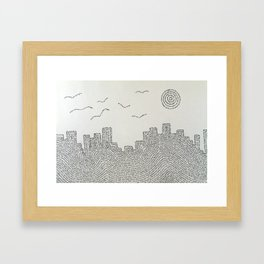 Beautiful and Damned Framed Art Print