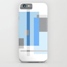 Color Harmony Blue iPhone Case