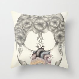 Sharing Emotions Throw Pillow