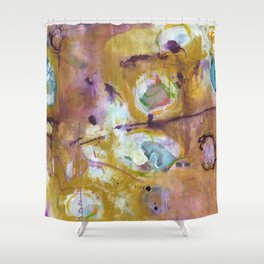 Mustard Shower Curtain