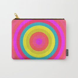 Pink Radial Carry-All Pouch