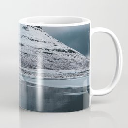 Iceland Mountain Reflection - Landscape Photography Coffee Mug