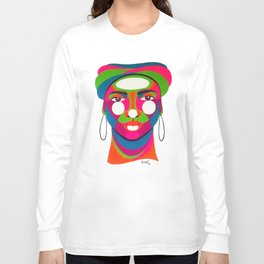 Palenquera es color Long Sleeve T-shirt