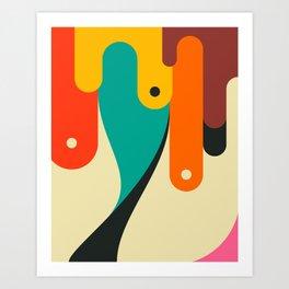 FLOW MOTION (1) Art Print
