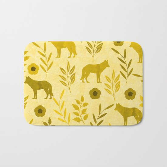 Forest Animal and Nature III Bath Mat