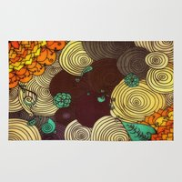 earth Area & Throw Rugs featuring Earth by DuckyB