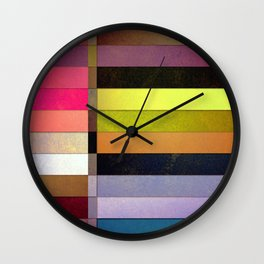 colorsplit Wall Clock