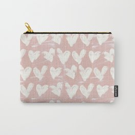 Hearts-Rose Carry-All Pouch