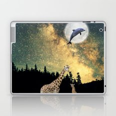 flying dolphin Laptop & iPad Skin
