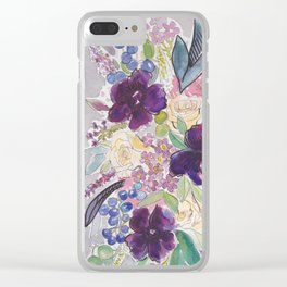 50 Shades of Gray and Some Other Colors Clear iPhone Case