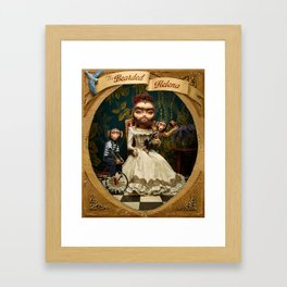 Bearded Helena Framed Art Print