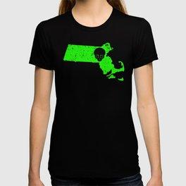 UFO Experience Investigator UFO Massachusetts T-shirt