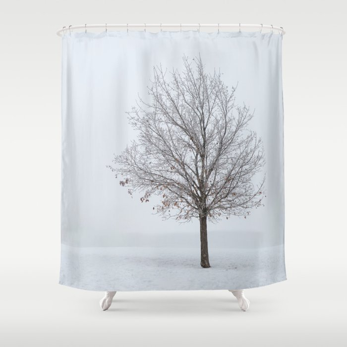 Its OK To Stand Alone Shower Curtain By Untitledgallery