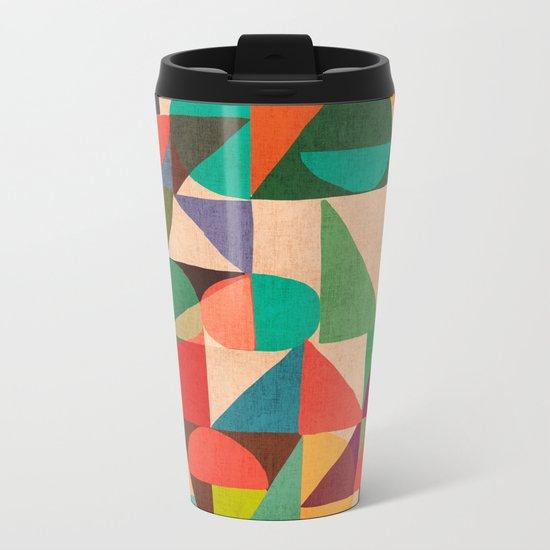 Color Field Metal Travel Mug