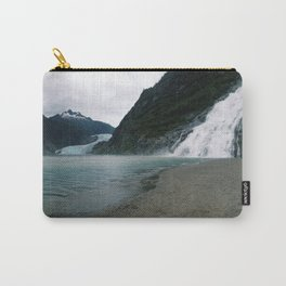 Mendenhall Glacier and Waterfall Carry-All Pouch
