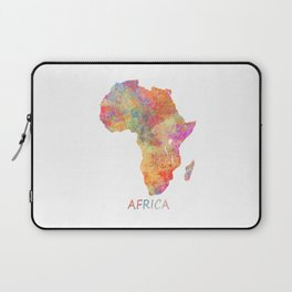 Africa map 2 Laptop Sleeve