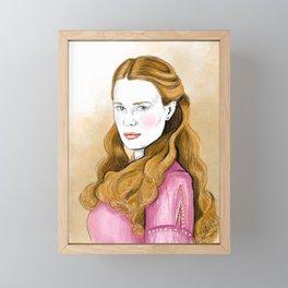 The Bride Princess Framed Mini Art Print