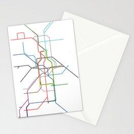 London tube Stationery Cards