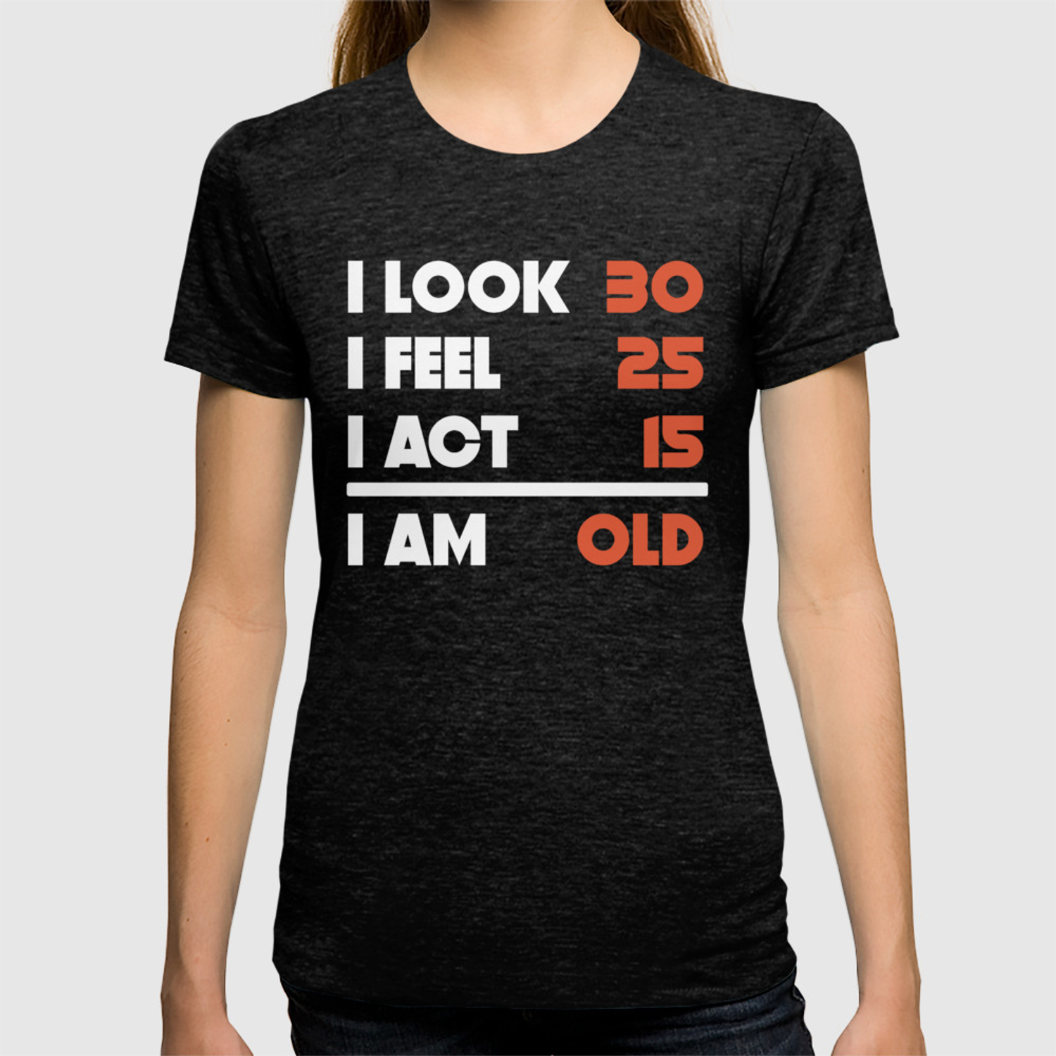 d76e42f71 Look Feel Act Funny 70 Years Old 70th Birthday T-shirt by awesomeart ...