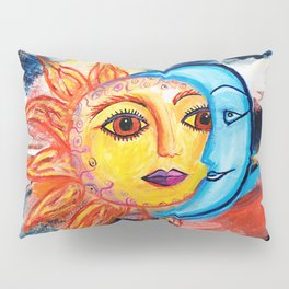 Sun and Moon United Pillow Sham