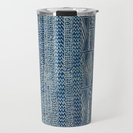 Ndop Cameroon West African Textile Print Travel Mug