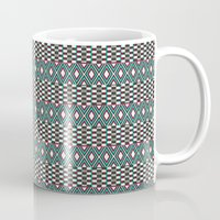 folk Mugs featuring Folk by Ana Types Type