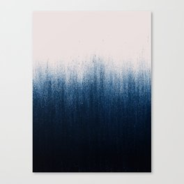 Jean Ombré Canvas Print