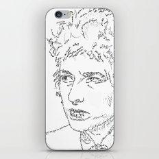 Bob Dylan WordsPortrait  iPhone & iPod Skin