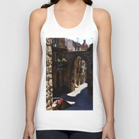 street Tank Tops featuring street by  Agostino Lo Coco
