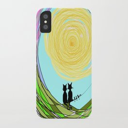 Kitty Cat Love iPhone Case