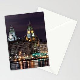 Liverpool Skyline Stationery Cards