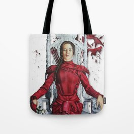 "Katniss Everdeen Mockingjay Part 2 ""I Kill Snow"" | Drawing Tote Bag"