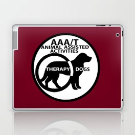Animal Assisted Activities  - THERAPY DOG logo 15 Laptop & iPad Skin