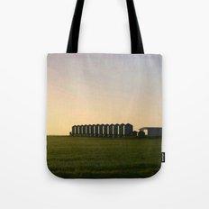 Wheat Silos Tote Bag
