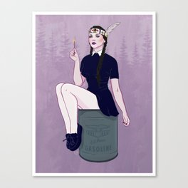 Wednesday Addams Canvas Print