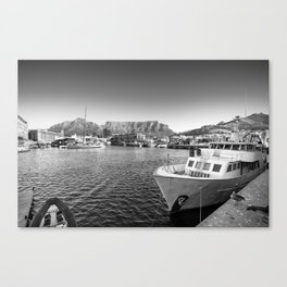 Victoria and Alfred Waterfront in Cape Town, South Africa Canvas Print
