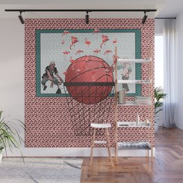 basketball poster Wall Mural