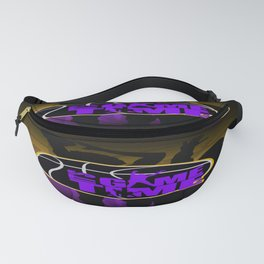 It's Game Time - Purple & Gold Fanny Pack