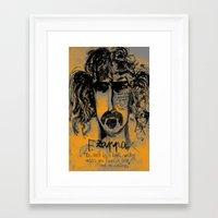 zappa Framed Art Prints featuring Zappa by sladja