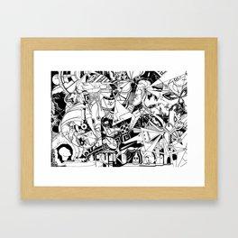 Organismo Meccanico Framed Art Print