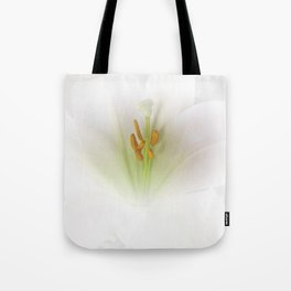 Easter Lily at Barthel's Farm Market Tote Bag