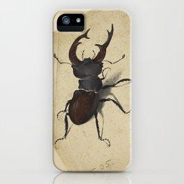 Stag Beetle - Albrecht Durer iPhone Case