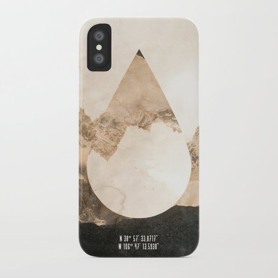 Longitude/Latitude iPhone Case