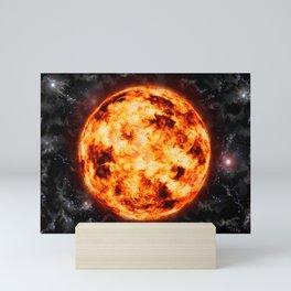 Sun-Space Mini Art Print