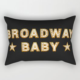 Broadway Baby! Rectangular Pillow