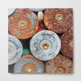 Shotgun Shells Metal Print