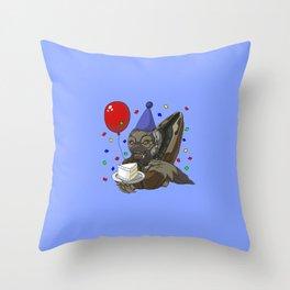 Grunt Birthday Party! Throw Pillow