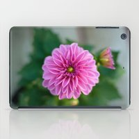 dahlia iPad Cases featuring Dahlia by Katie Kirkland