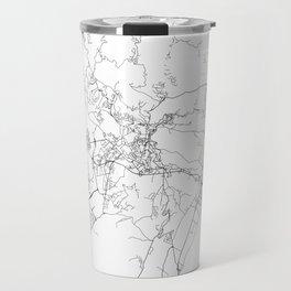 Minimal City Maps - Map Of Perugia, Italy. Travel Mug