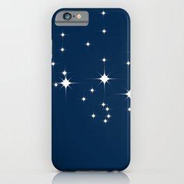 Mid Century Starry Night iPhone Case